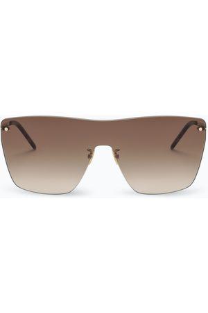 Saint Laurent Brown mask sunglasses