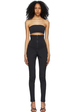 Foundrae High-Rise Zip Trousers