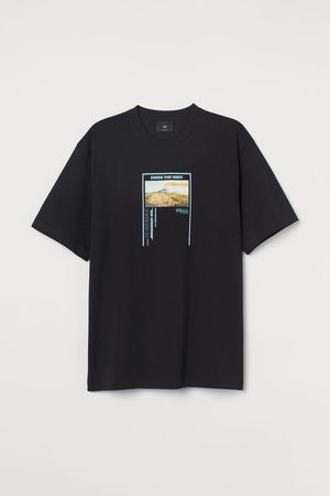 H&M Herren T-Shirts - COOLMAX® T-Shirt Relaxed Fit
