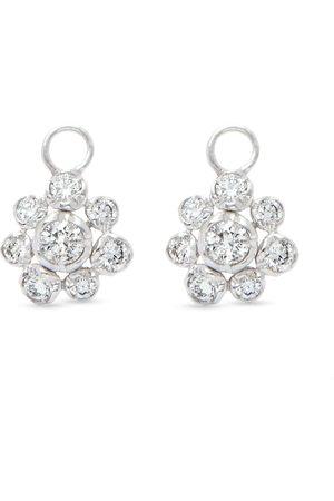 ANNOUSHKA Damen Ohrringe - 18kt Weißgoldohrringe mit Diamanten