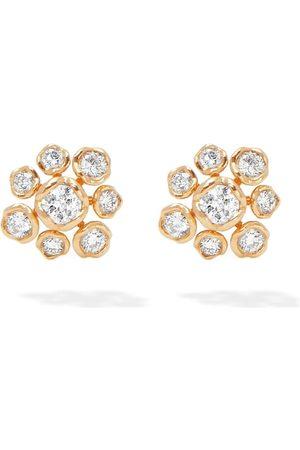 Annoushka Damen Ohrringe - 18kt Gelbgoldohrstecker mit Diamanten