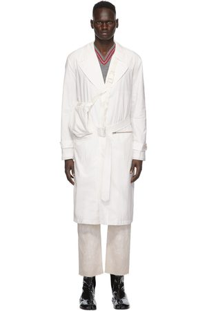 Maison Margiela Off-White Recycled Packable Trench Coat