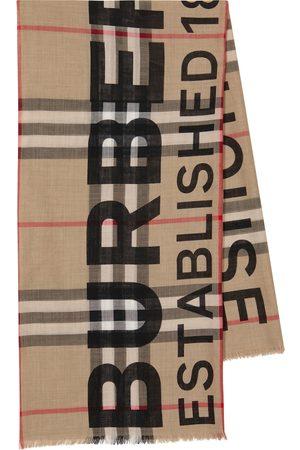 Burberry Schal aus Wolle und Kaschmir