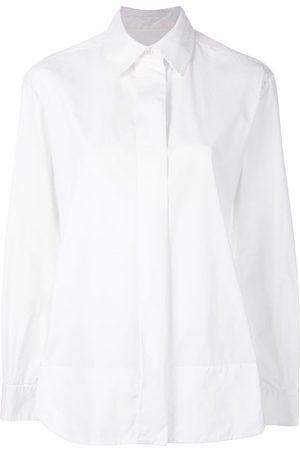 Yves Saint Laurent Damen Blusen - Hemd mit verdeckter Knopfleiste