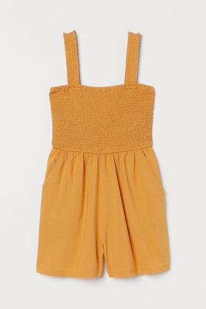 H&M Damen Jumpsuits - Gesmokter Playsuit
