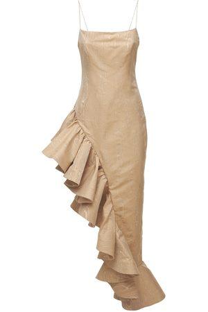 GIUSEPPE DI MORABITO Langes Kleid Aus Jacquard