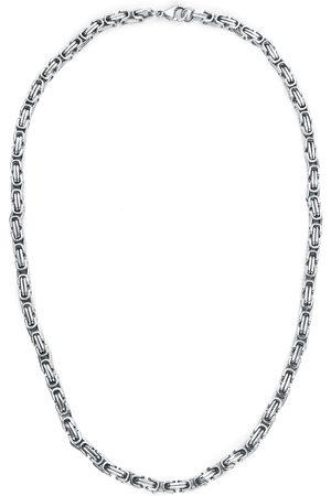 etNox hard and heavy Königskette Halskette silberfarben