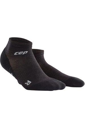CEP Hiking Light Merino Compression Low Cut Socks - Kurze Kompressionssocken mit zum Wandern für Damen, lava stone, 34-37