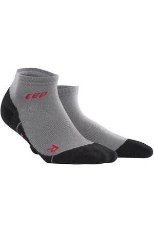 CEP Hiking Light Merino Compression Low Cut Socks - Kurze Kompressionssocken mit zum Wandern für Damen, volcanic dust, 34-37