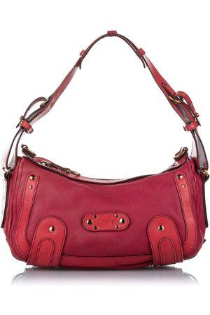 Chloé Leather Shoulder Bag Pink, Damen, Größe: One size
