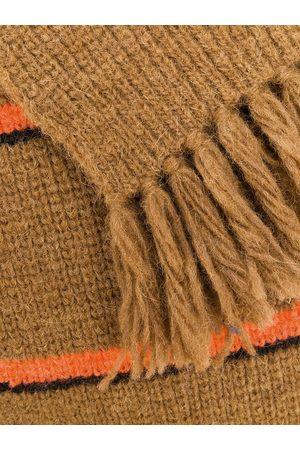 Ami Gerippter Schal mit Streifen