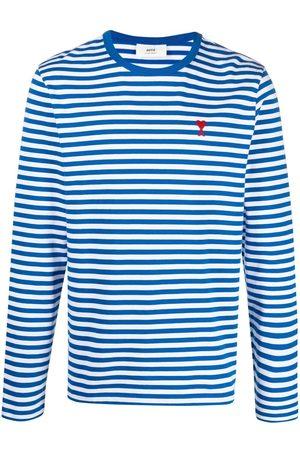 Ami Gestreiftes Ami de Coeur Sweatshirt