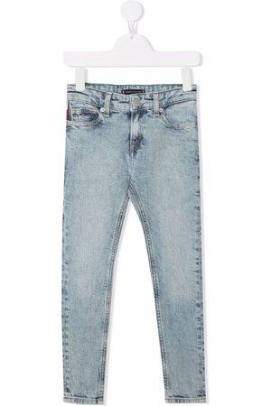 Tommy Hilfiger Halbhohe Slim-Fit-Jeans