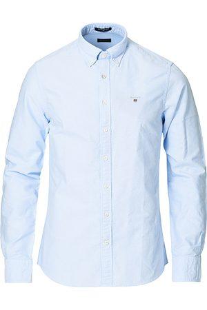 GANT Slim Fit Oxford Shirt Capri Blue