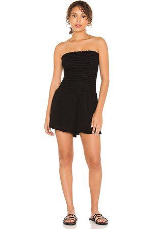 MICHAEL STARS Damen Jumpsuits - Bianca Smocked Romper in . Size XS, S, M.