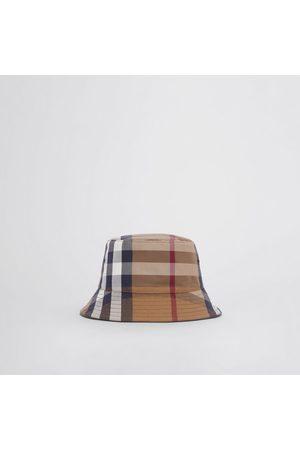 Burberry Damen Hüte - Fischerhut aus Baumwollcanvas mit Karomuster