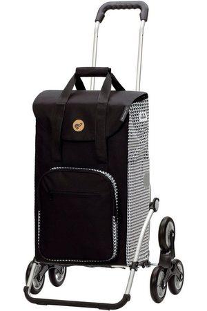 ASTRID ANDERSEN Damen Handtaschen - Einkaufstrolley »Treppensteiger Royal Shopper Liska«, 56 l