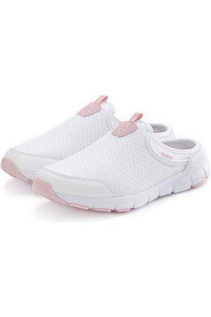 LASCANA Slip-On Sneaker Clog aus leichtem Mesh-Material