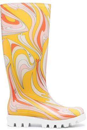 Emilio Pucci Stiefel mit Print