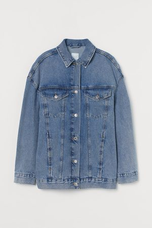 H&M Oversized Jeansjacke