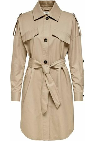 ONLY Einfarbig Trenchcoat