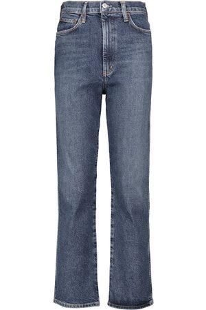AGOLDE High-Rise Slim Jeans Pinch