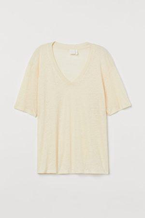 H&M T-Shirt aus Leinen
