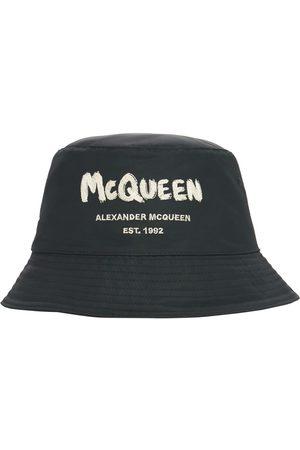 Alexander McQueen Fischerhut Aus Nylon Mit Logo