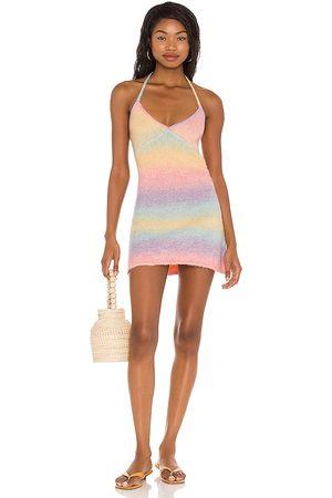 Frankies Bikinis Damen Kleider - Debbie Knit Dress in . Size XS, S, M.