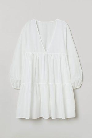 H&M Strandkleid aus Popeline