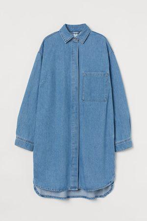 H&M Oversize Jeanskleid