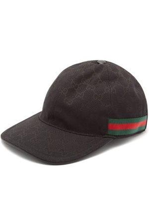Gucci Web-stripe Gg Logo-jacquard Baseball Cap