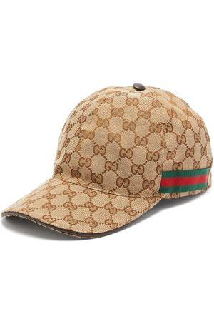 Gucci Web-stripe Gg-logo Baseball Cap