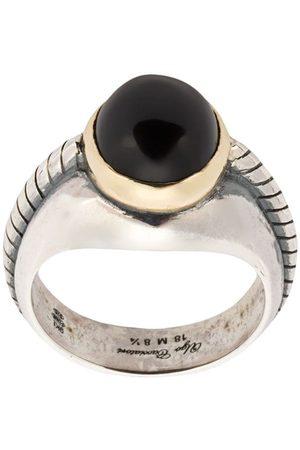 UGO CACCIATORI Herren Ringe - Ring mit Onyx