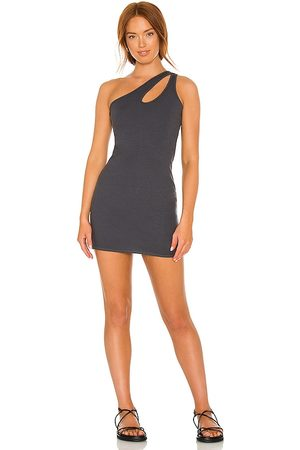 MONROW Cut Out One Shoulder Dress in . Size XS, S, M.