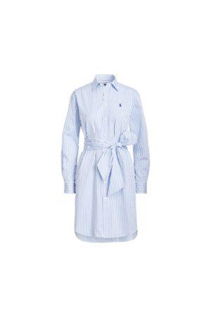 Polo Ralph Lauren Damen Freizeitkleider - Gestreiftes Hemdkleid mit Gürtel