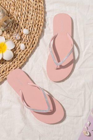 CUPSHE Damen Sandalen - Brisbane Minimalistische Zehentrenner-Sandalen