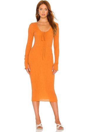 Camila Coelho Naya Midi Dress in . Size XXS, XS, S, M.
