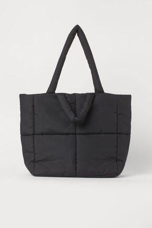 H&M Damen Shopper - Wattierter Shopper