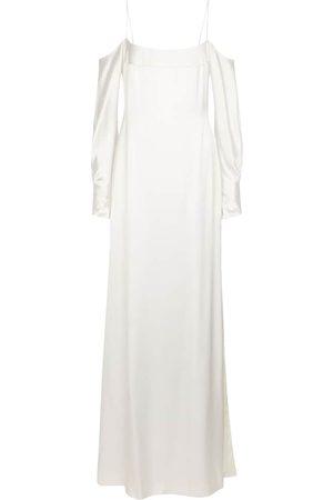 GALVAN Exklusiv bei Mytheresa – BRIDAL Robe Valencia aus Seidensatin