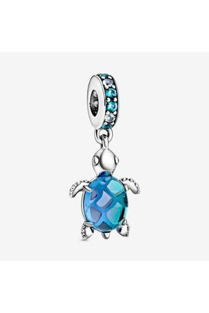 PANDORA Damen Uhren - Meeresschildkröte Murano-Glas Charm-Anhänger