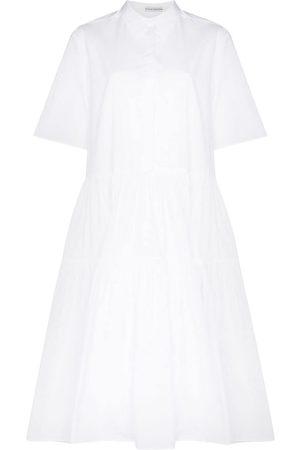 Cecilie Bahnsen Gestuftes Primrose Hemdkleid