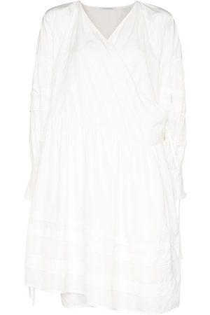 Cecilie Bahnsen Amalie Oversized-Wickelkleid