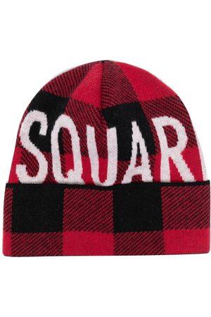 Dsquared2 Herren Hüte - Mütze mit Intarsien-Logo