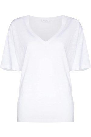 Ninety Percent T-Shirt mit V-Ausschnitt