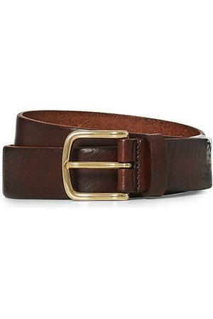 Anderson's Herren Gürtel - Leather Belt 3 cm Cognac