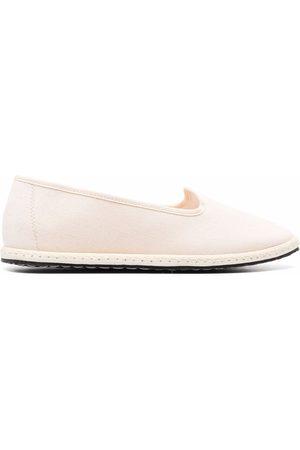 VIBI VENEZIA Damen Halbschuhe - Loafer mit Ripsband-Einfassung
