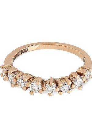 Suzanne Kalan Damen Ringe - 18kt Starburst Rotgoldring mit Diamanten