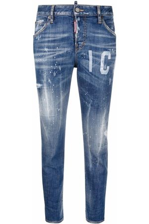 Dsquared2 Icon Cool Girl Cropped-Jeans
