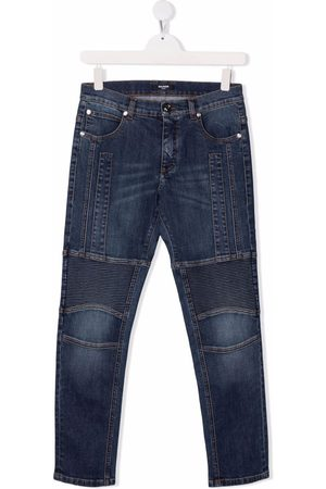 Balmain Halbhohe Slim-Fit-Jeans